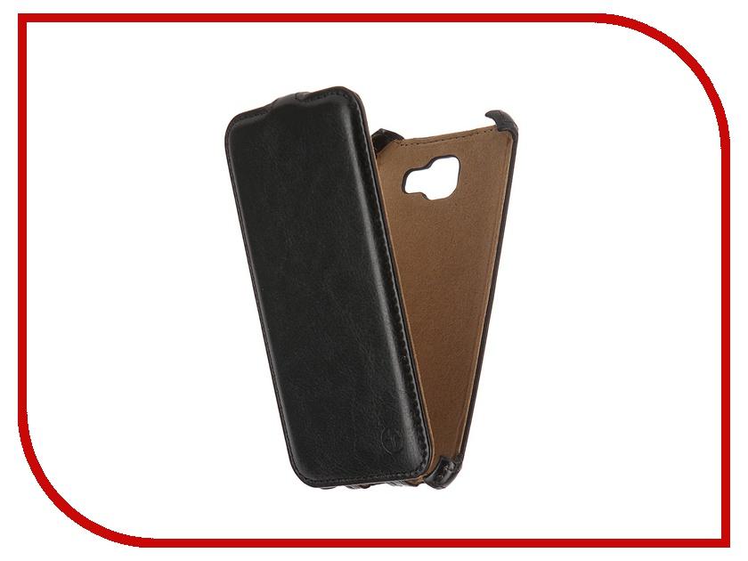 Аксессуар Чехол Samsung Galaxy A5 2016 Pulsar Shellcase Black PSC0849