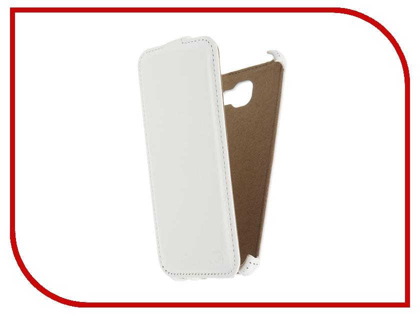 Аксессуар Чехол Samsung Galaxy A7 2016 Pulsar Shellcase White PSC0859<br>
