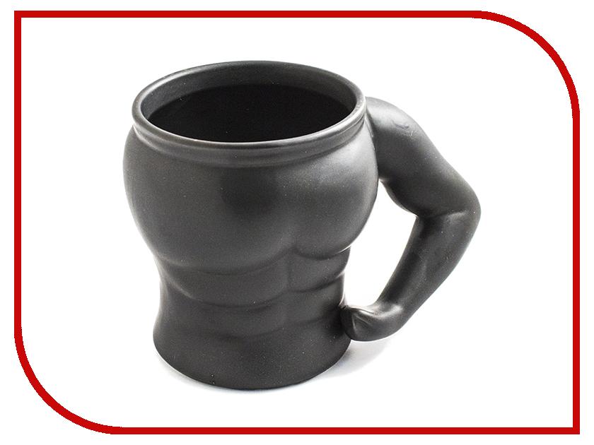 Кружка Эврика Культурист 1 Black 97086