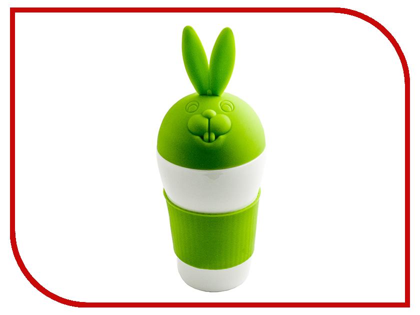 Кружка Эврика Зайка Green 97064<br>