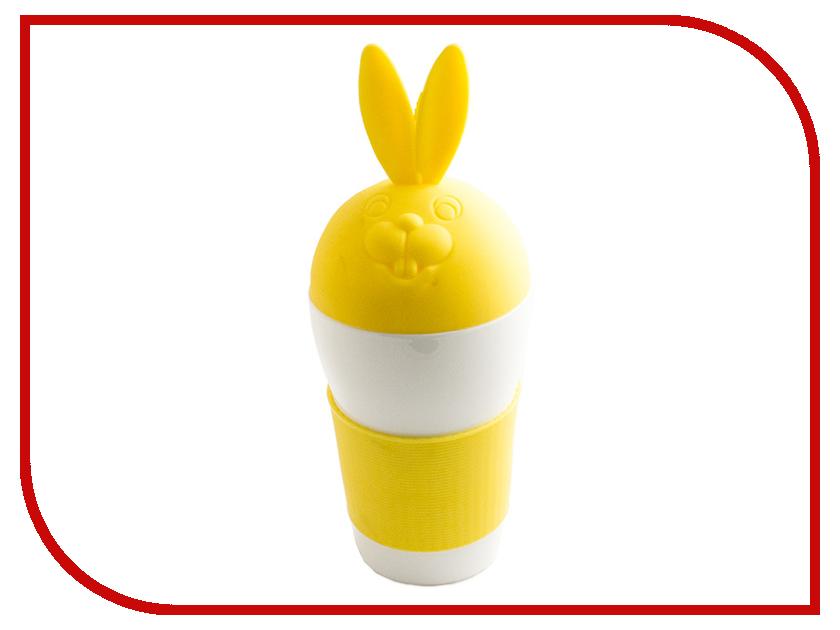 Кружка Эврика Зайка Yellow 97066<br>