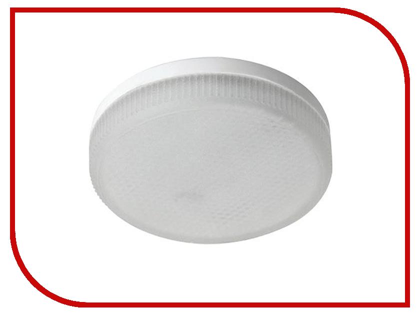 Лампочка Ecola LED GX53 8W Tablet 220V 4200K матовое стекло T5MV80ELC ecola ecola gx53 led 8003a светильник накладной ip65 прозрачный цилиндр металл 1 gx53 белый матовый 114x1