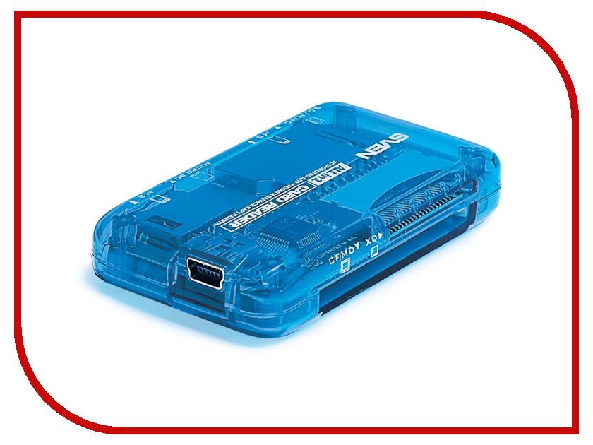 Карт-ридер Sven AC-116 SV-008444 Blue
