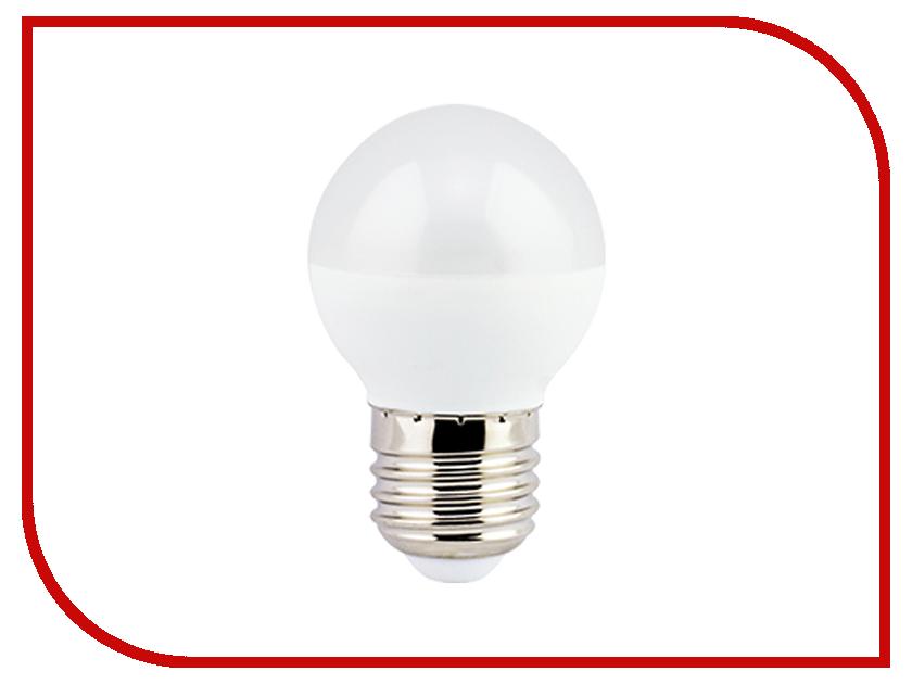 Лампочка Ecola Globe LED Premium G45 E27 8W 220V 2700K K7QW80ELC лампочка ecola light classic led e27 11 5w a60 220v 2700k tk7w11elc