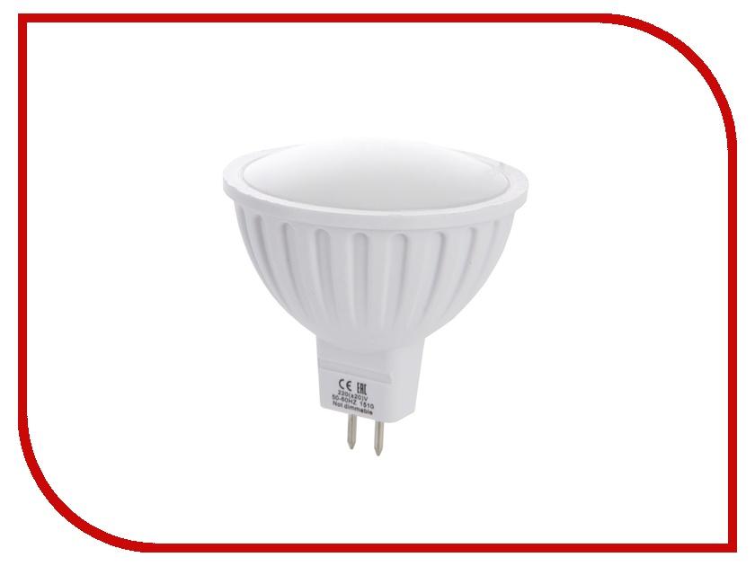 Лампочка Ecola MR16 LED GU5.3 8W 220V 4200K матовое стекло M2RV80ELC