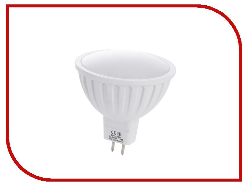 Лампочка Ecola MR16 LED GU5.3 8W 220V 6000K матовое стекло M2RD80ELC
