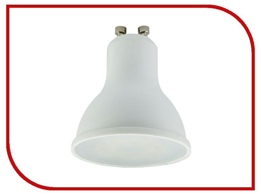 Лампочка Ecola Reflector LED 5.4W GU10 220V 2800K G1RW54ELC<br>