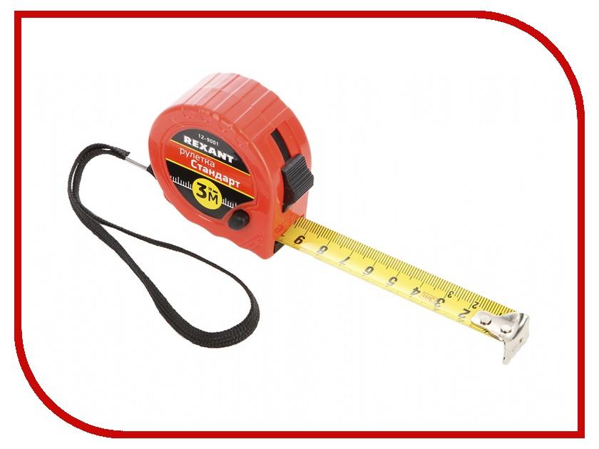 Рулетка Rexant Стандарт 3м 12-9001<br>