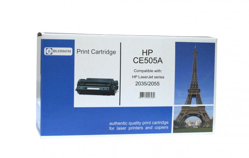 Картридж Blossom BS-HPCE505A Black for HP LaserJet P2035/2055<br>