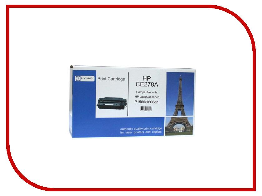 Картридж Blossom BS-HPCE278A Black for HP LaserJet M1536/P1560/1566/P1600/1606DN<br>