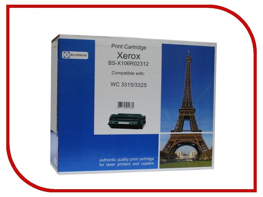 Картридж Blossom BS-X106R02312 Black for Xerox WC 3325<br>