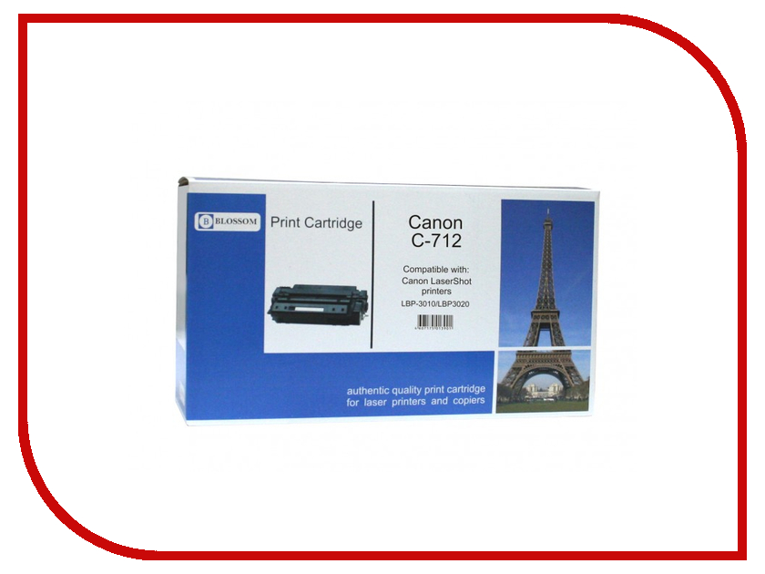 Картридж Blossom BS-CnC712 Black for Canon i-Sensys LBP-3010/3020