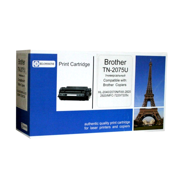 Картридж Blossom BS-BrTN2075U Black for Brother HL2040/2070N/FAX-2820/2920/MFC7220/7225n