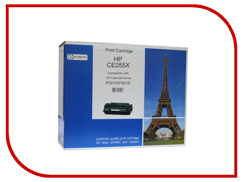 Картридж Blossom BS-HPCE255X Black for HP LaserJet P3010/P3015<br>
