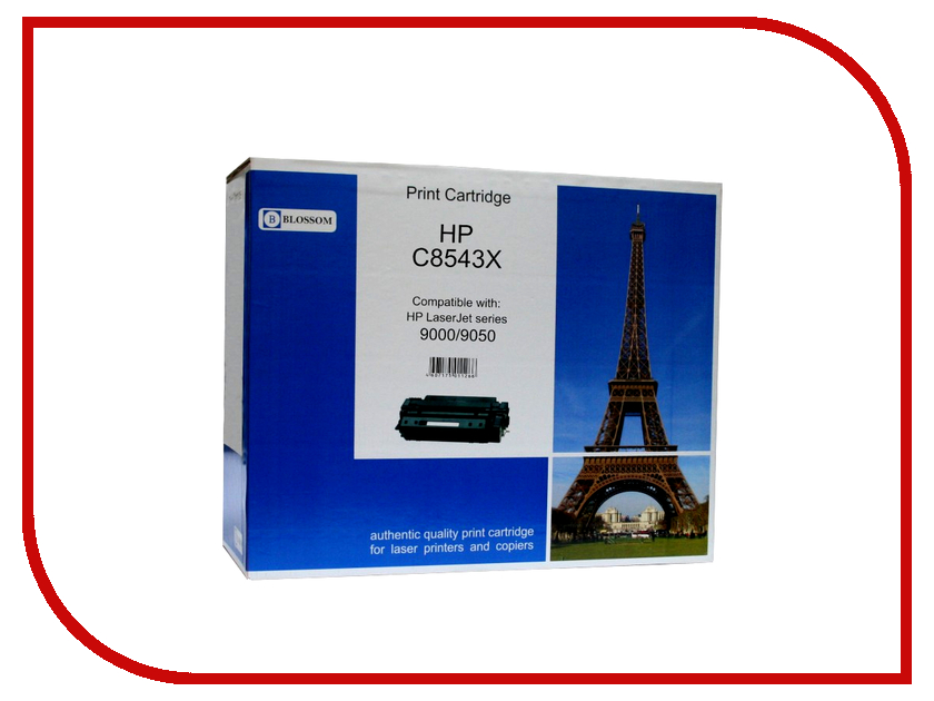 цена на Картридж Blossom BS-HPC8543X Black for HP LJ 9000/9050/9000mfp/9040mfp