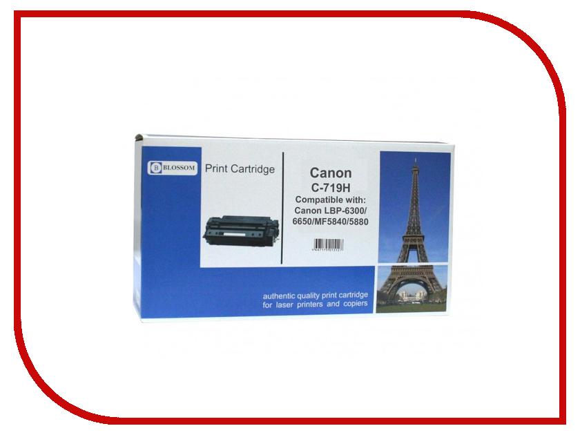 Картридж Blossom BS-CnC719H Black for i-Sensys LBP-6300/6650/6680/MF5840/5880/6140/6180<br>