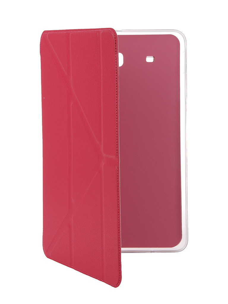 Аксессуар Чехол Gecko for Samsung Tab E 9.6 SM-T560/T561N Slim Crimson PAL-F-SGTABE9.6-CRIMSON<br>