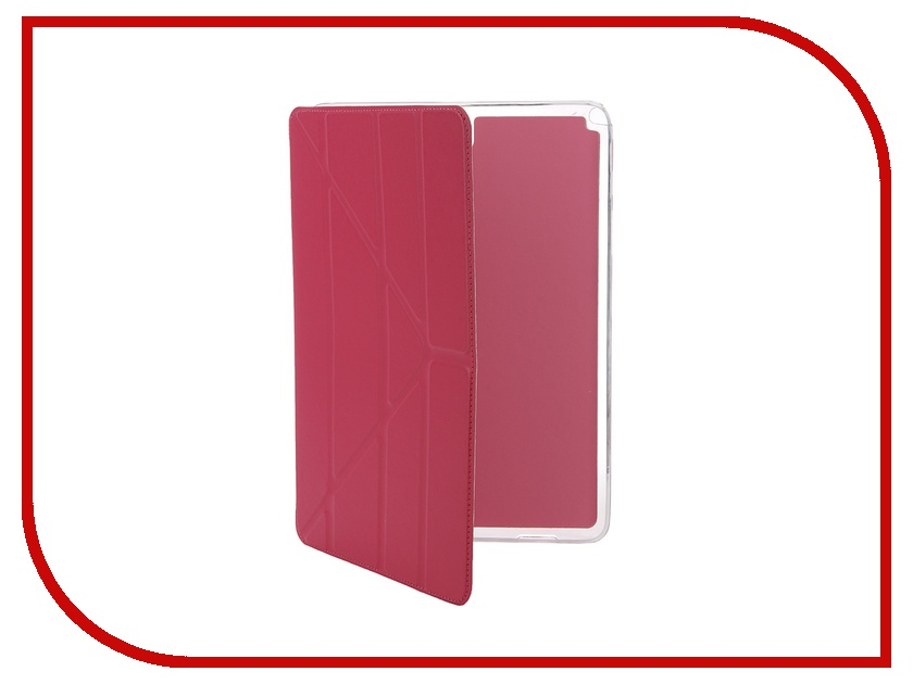 Аксессуар Чехол Gecko for Samsung Tab A 9.7 SM-T550/T555 Slim Crimson PAL-F-SGTABA9.7-CRIMSON<br>