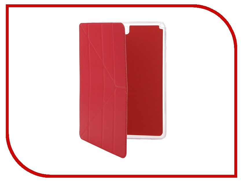 Аксессуар Чехол Samsung Tab A 9.7 SM-T550/T555 Gecko Slim Red PAL-F-SGTABA9.7-RED