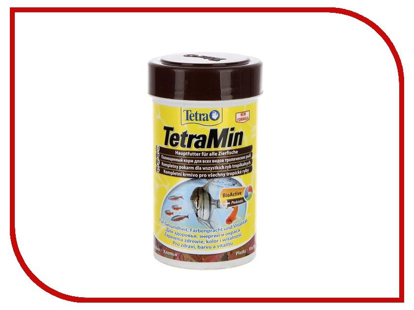 Tetra TetraMin 100ml для аквариумных декоративных рыб Tet-762701
