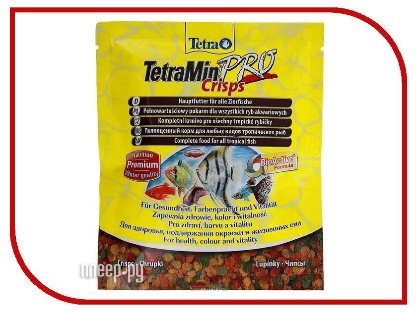 Корм Tetra TetraMin Crisps 12g для донных рыб Tet-149304 корм tetra tetramin xl flakes complete food for larger tropical fish крупные хлопья для больших тропических рыб 10л 769946