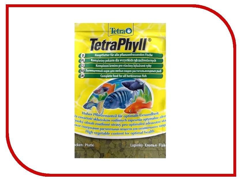Tetra TetraPhyll 12g для всех видов аквариумных рыб Tet-134430