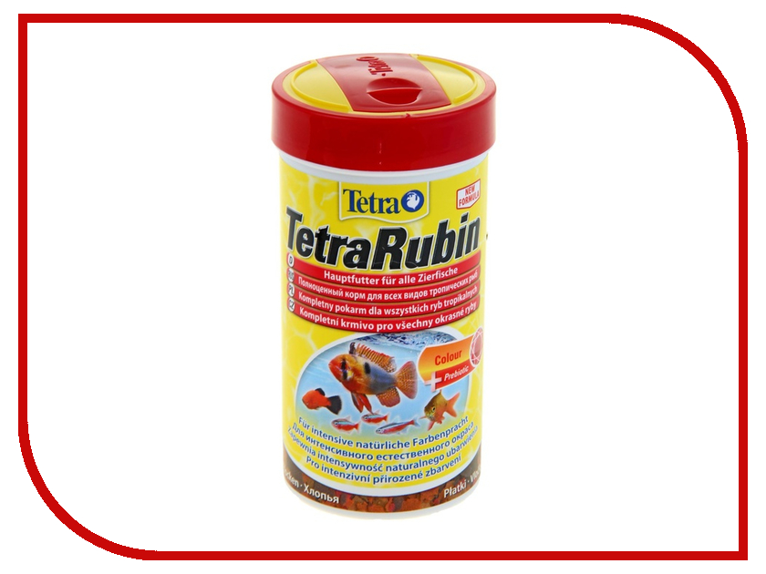 Tetra TetraRubin 250ml для любых видов рыб Tet-767362