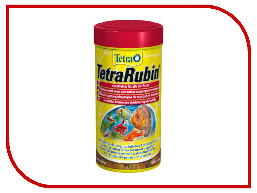 Корм Tetra TetraRubin 1000ml для декоративных аквариумных рыб Tet-721753 / 204416