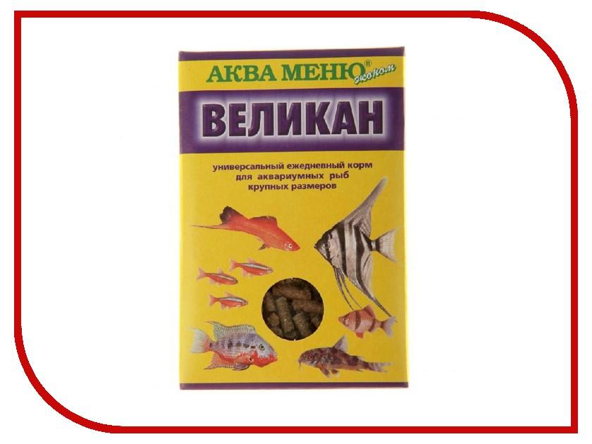 Аква Меню Великан 35 гр для крупных аквариумных рыб 650096