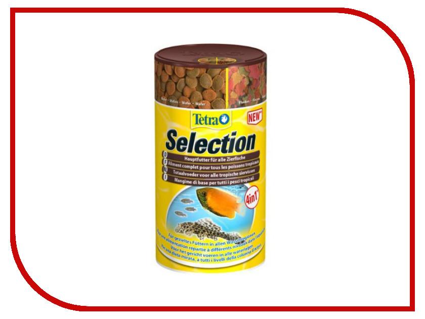 Tetra Selection 100ml для любых видов рыб Tet-247550