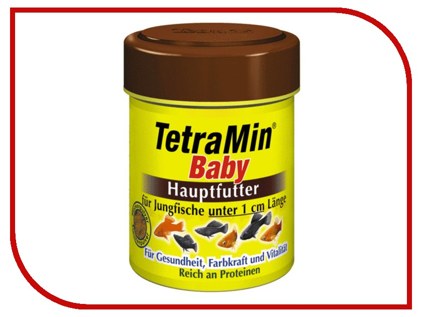 Tetra TetraMin Baby 66ml для мальков длинной до 1cm Tet-199156<br>