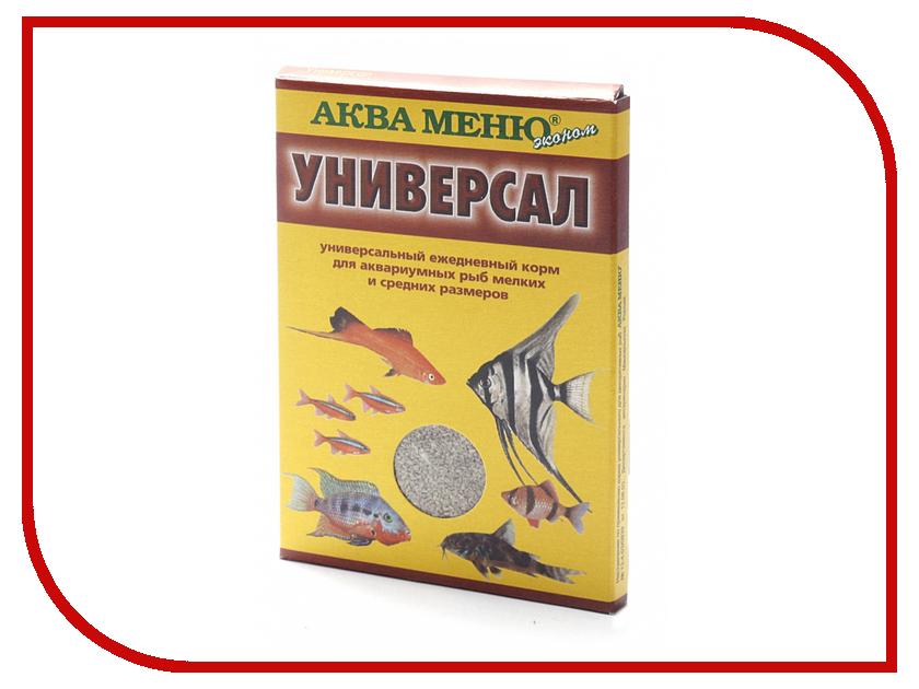 Аква Меню Универсал 30 гр для большинства видов аквариумных рыб 650058 корм для рыб аква меню флора 2 с растительными добавками для рыб средних размеров 30 г