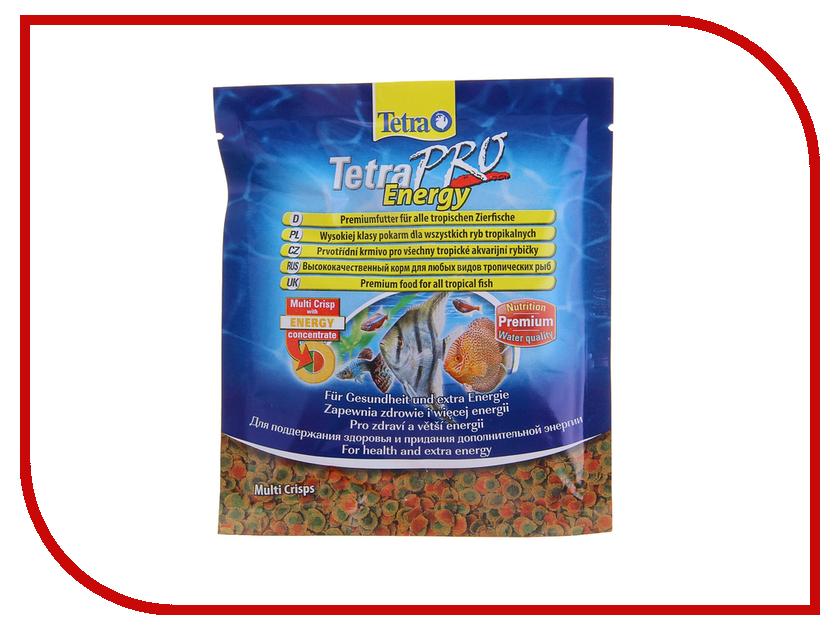 Корм Tetra TetraPro Energy 12g для любых видов тропических рыб Tet-149335 корм tetra tetramin xl flakes complete food for larger tropical fish крупные хлопья для больших тропических рыб 10л 769946