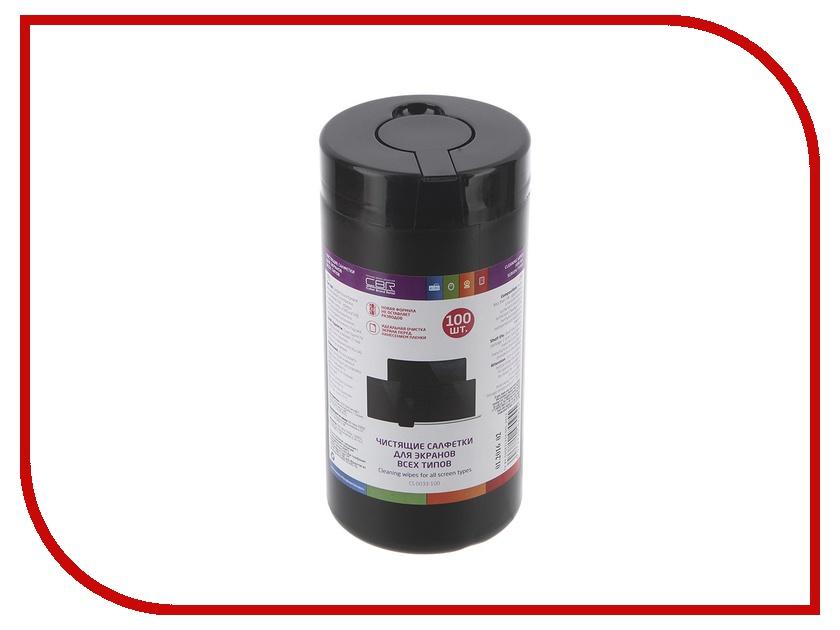 Аксессуар CBR CS 0033-100 100 шт - чистящие салфетки