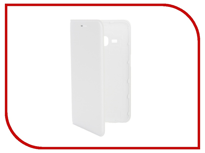 Аксессуар Чехол Samsung SM-J120 Galaxy J1 Flip Wallet White EF-WJ120PWEGRU<br>