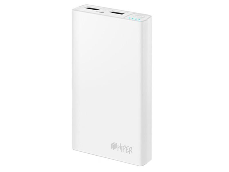 цены на Аккумулятор Hiper Power Bank RP12500 12500mAh White  в интернет-магазинах