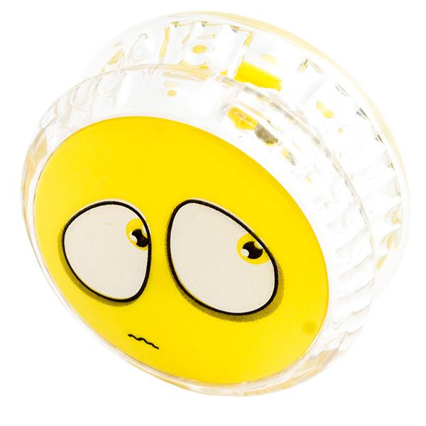 Йо-Йо Эврика Волчок на шнуре Смайл Yellow 97043