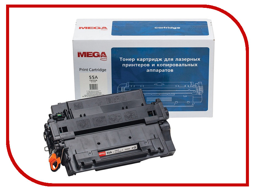 Картридж ProMega Print 55A CE255A для HP LaaserJet Enterprise P3015<br>