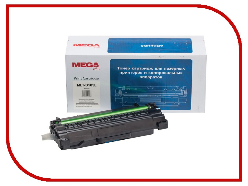 Картридж ProMega Print MLT-D105L для Samsung ML-2580N/2525/1910/1915/SCX-4600/4623FN<br>