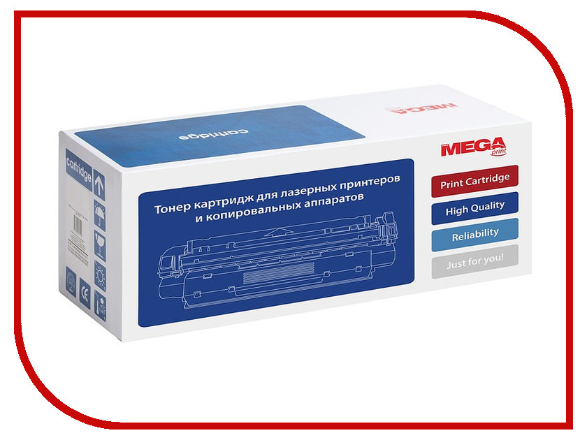 Картридж ProMega Print KX-FAT411A/A7 для Panasonic KX-MB1900RU/KX-MB2000RU/KX-MB2020RU/KX-MB2030RU/KX-MB2051RU/KX-MB2061RU