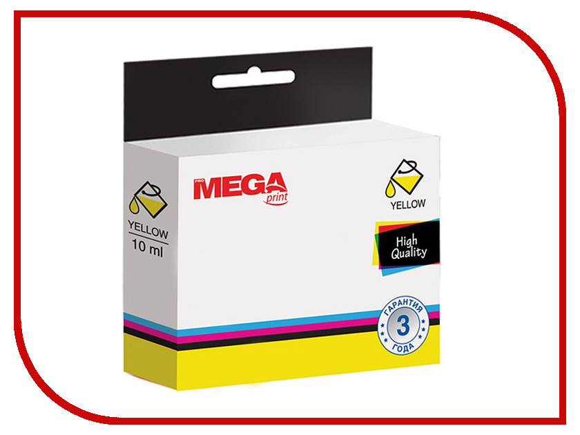 Картридж ProMega Print 940XL C4909AE Yellow для HP OfficeJet Pro 8000/8500 картридж promega print 932xl cn053ae для hp officejet 6100 6600 6700 black
