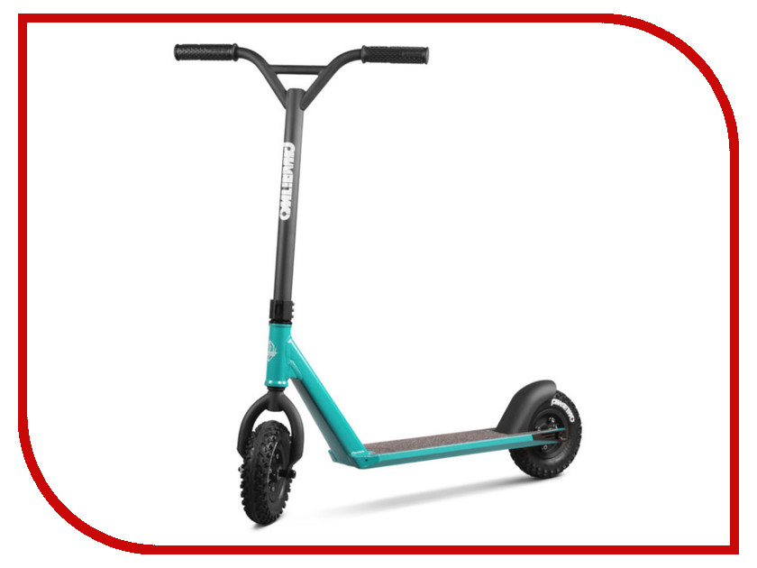 Самокат Razor Phase Two Dirt Scoot Turquoise