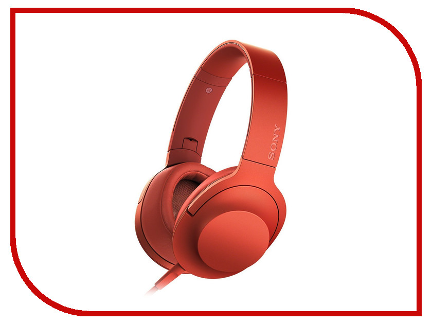 Гарнитура Sony MDR-100AAP Red<br>