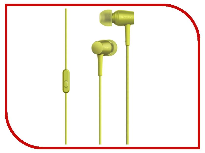 Гарнитура Sony MDR-EX750AP Yellow<br>