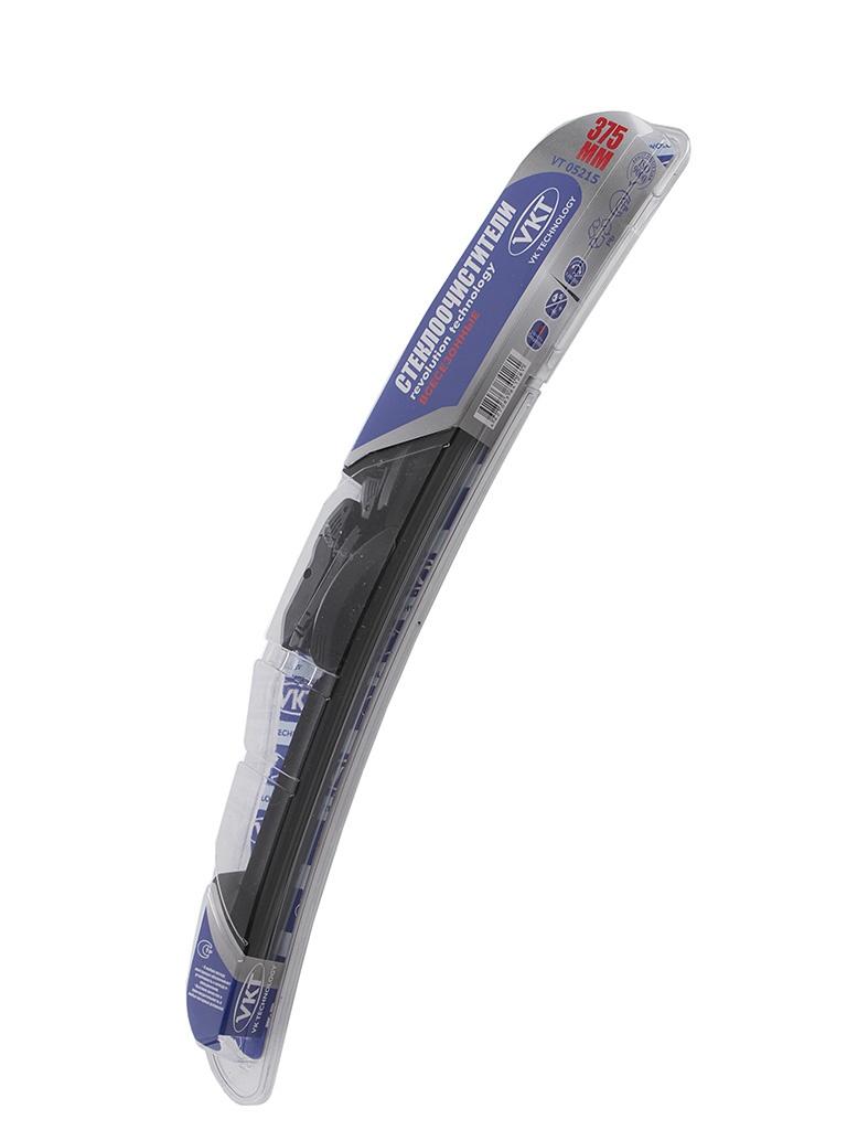 Щетки стеклоочистителя VK TECHNOLOGY Aero VT 375mm 05215