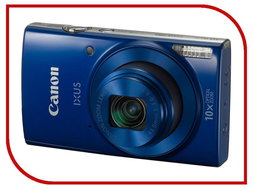 Фотоаппарат Canon IXUS 180 Blue<br>