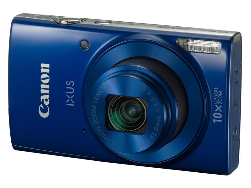 Фотоаппарат Canon IXUS 180 Blue*<br>