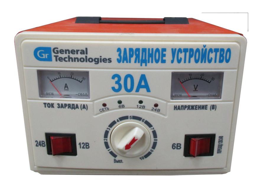 Зарядное устройство для автомобильных аккумуляторов General Technologies NC-05-BC008<br>