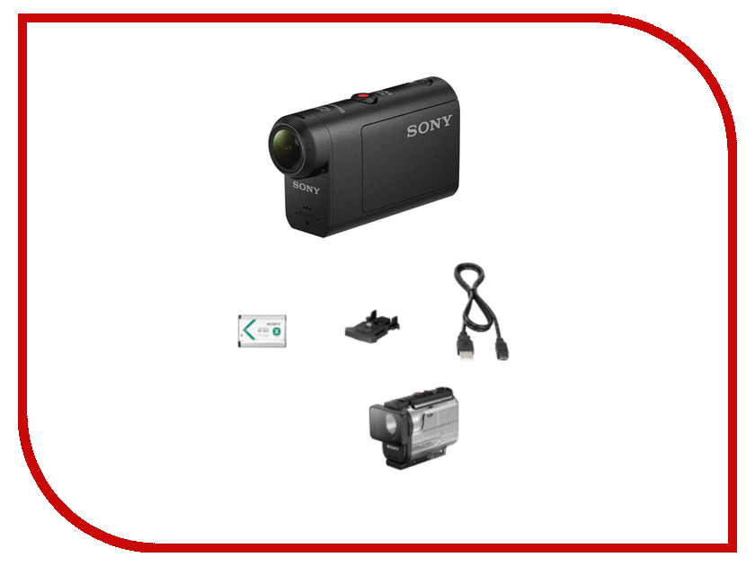 Экшн-камера Sony HDR-AS50 sony sony hdr cx520e hd цифровая камера