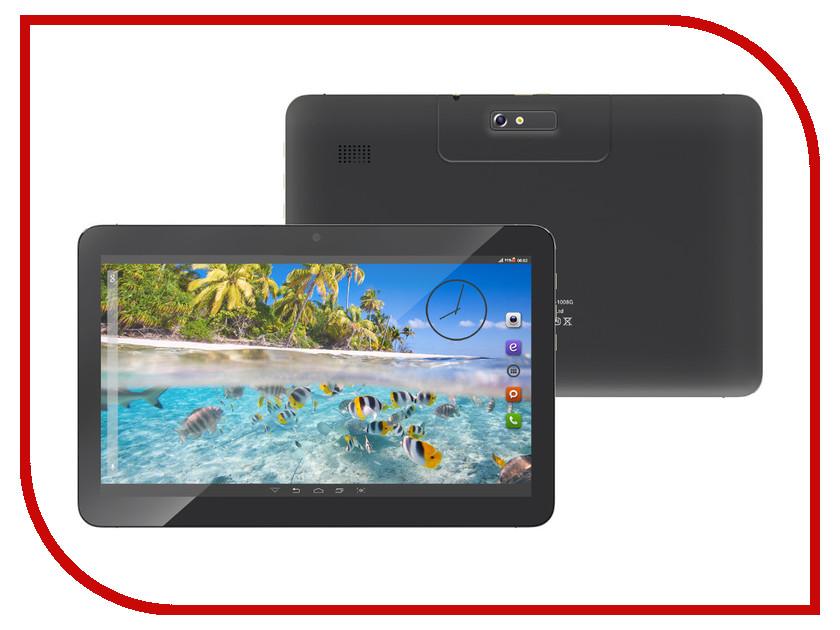 Планшет BQ 1008G Grace Black Spreadtrum SC7731 1.2 GHz/512Mb/4Gb/GPS/3G/Wi-Fi/Bluetooth/Cam/10.1/1024x600/Android